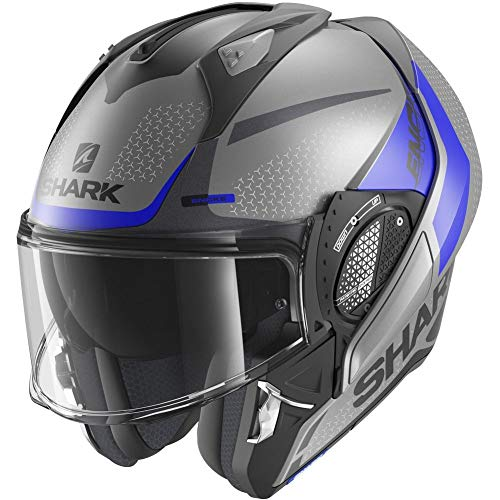 Shark, Casco de moto modular EVO GT, Encke, ABK, XS