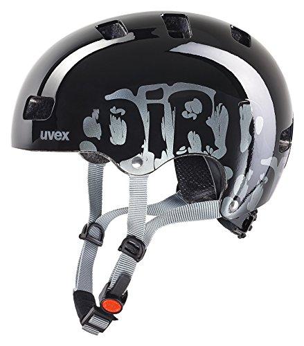 Uvex Kid 3 Casco de Ciclismo, Unisex, Dirtbike Black, 51-55 cm