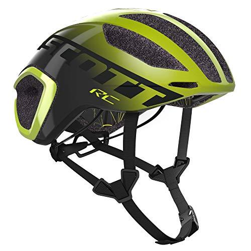Scott 275183 - Casco de Bicicleta Unisex para Adulto, Talla Yel/DK, Talla S