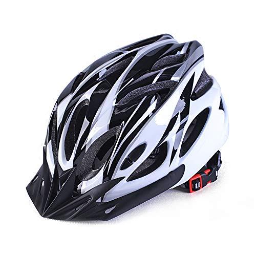 Lixada Casco de Bicicleta Moldeado Integrado Hombres Mujeres Adultos Casco de Ciclismo para Bicicleta de Carrete