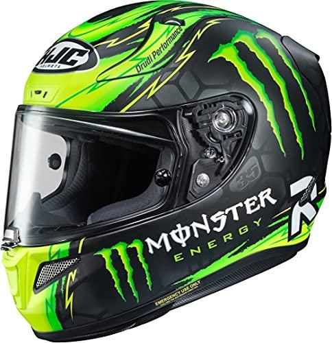 HJC Helmets Rpha 11 Cal Crutchlow Replica Monster Casco para Motocicleta, Hombre, MC-4HSF, XXS (52/53)