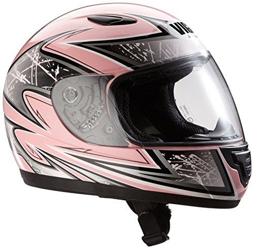 Protectwear Casco de moto de los niños color de rosa SA03-PK Tamaño 2XS (juventud M) 50/51 cm