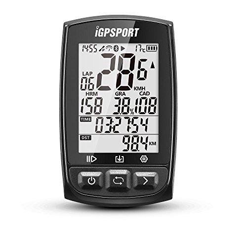 iGPSPORT Ciclocomputadores GPS Ant+ Función iGS50E Computadora Bicicleta Inalámbrica Ciclismo Cuentakilometros Bici - Blanco