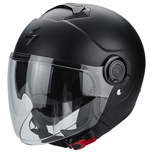 Scorpion - Casco Moto Exo-City - Color negro mate - Talla M