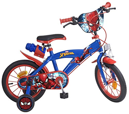 Bicicleta 14' Spiderman