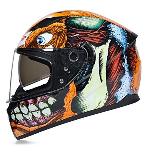 Cascos de moto Full Face Flip Up Casco de moto Casco de moto Jet Casco de moto Rack Casco de moto Hombre Mujer