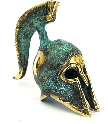 IconsGr Antiguo Museo de Bronce Griego Réplica del Casco Oficial Espartano (387)