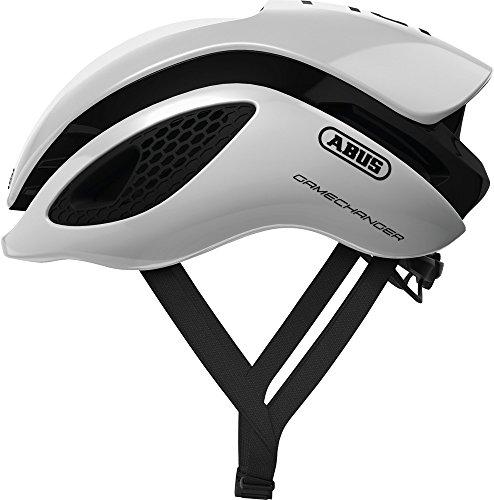 Abus Gamechanger Fahrradhelm, Unisex, Polar White, M