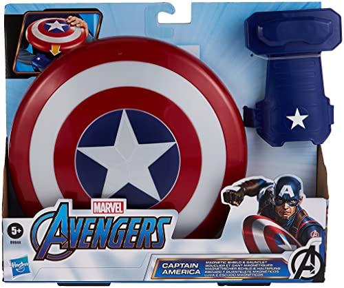 Avengers- Escudo Capitán América, Multicolor, única (Hasbro B9944EU8)