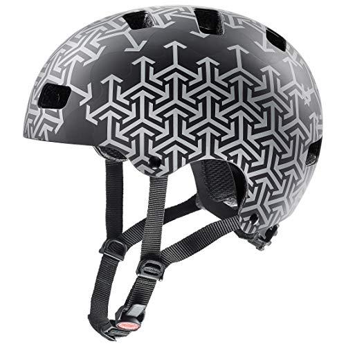 Uvex Kid 3 CC Casco de Bicicleta, Juventud Unisex, Black, 55-58 cm