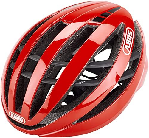 ABUS Racing Red L Casco, Unisex, Rojo (Rojo)