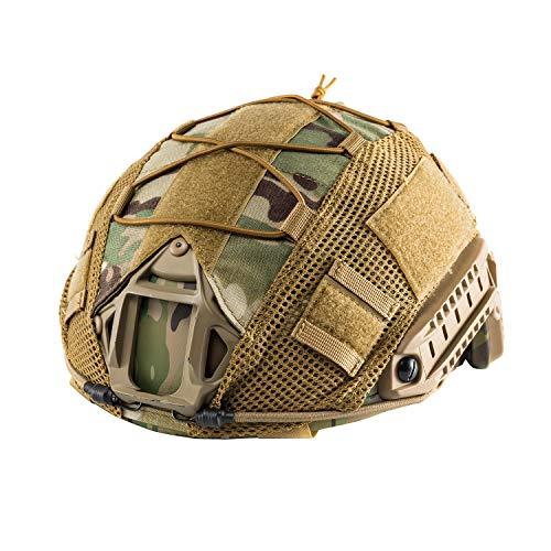 OneTigris - Funda protectora para casco táctico, cubierta para casco militar para L/XL Ops de Core Fast PJ Casco