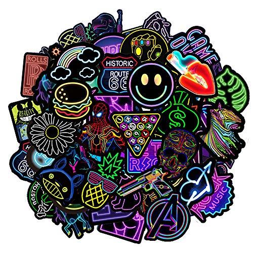 Jackify Paquete de Pegatinas, Graffiti Sticker Vinals para Portátiles, Automóviles, Motocicletas, Bicicletas, Monopatines, Etiquetas de Parachoques Bomba a Prueba de Agua