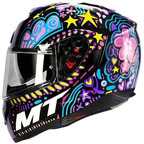 Mt Helmets Atom SV Axa A1 Gloss Black XS